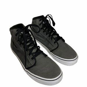 Vans Off the Wall Gray High Top Unisex Shoes